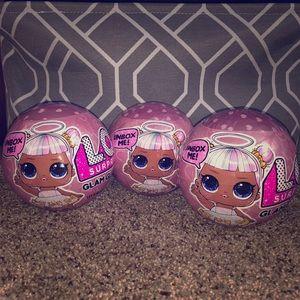 Limited edition LOL Glam Glitter Balls